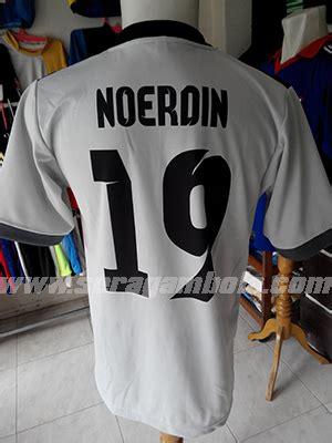 Tambah Sablon Nomor Punggung seragam bola