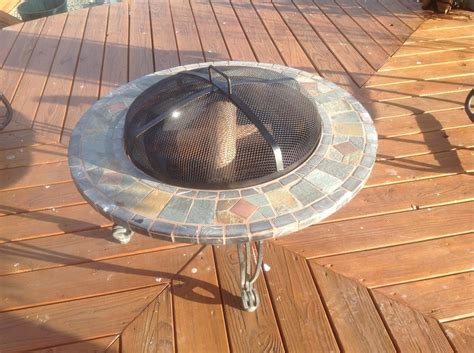 Firepit Ceramics Pit With Ceramic Tile Sooke