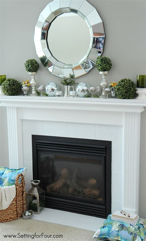 mantel decorating ideas spring mantel decorating ideas setting for four