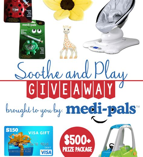 150 Visa Gift Card - medi pals 150 visa gift card and more giveaway