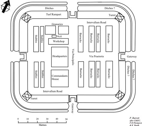 Small Bath Floor Plans friends of castleshaw roman forts