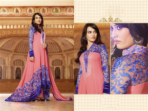 Fadiya Dress By Zoya Fashion tv serial zoya in blue color designer