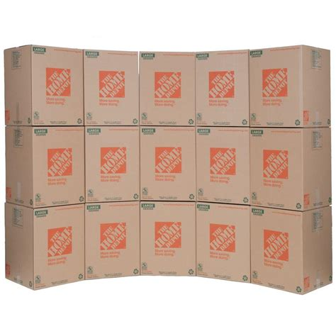 wardrobe boxes home depot the home depot 18 in l x 18 in w x 24 in d large moving