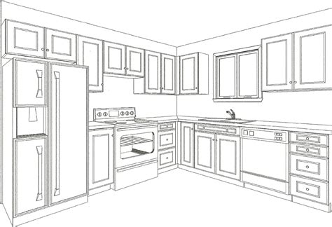 Designs For L Shaped Kitchen Layouts by Plan Your Kitchen With Drawings From Canadiana Kitchens