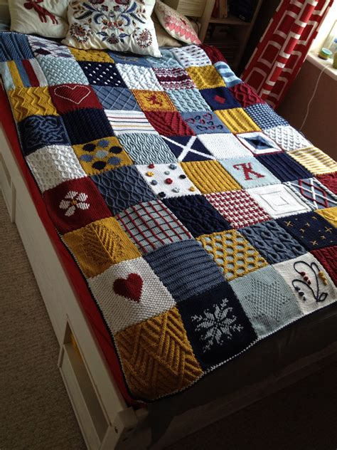 knitting pattern patchwork blanket again it s knit patchwork blanket but i love it just