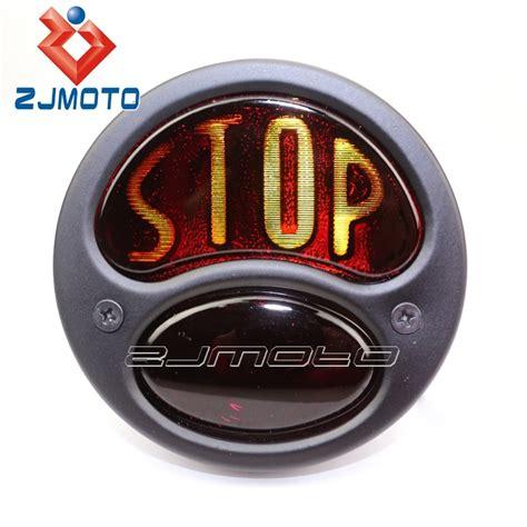 R Cklicht Motorrad Chopper by Zjmoto Motorrad Stoppen R 252 Ckleuchten Schwarz R 252 Cklicht