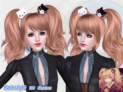 sims 3 anime hair skysims hair adult 199