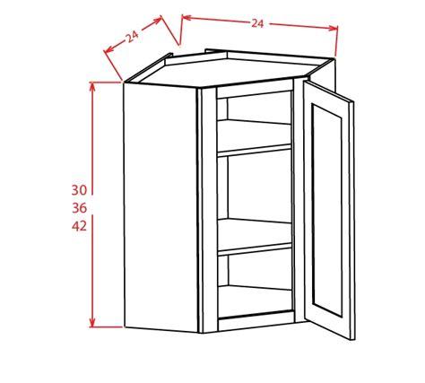 wall diagonal corner cabinet dcw2736gd diagonal corner wall cabinet with open door