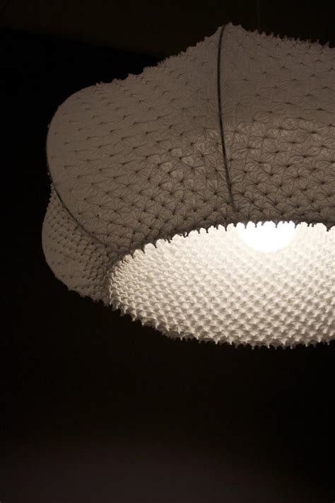 Handmade Lighting Design - handmade fabric lighting design by suzusan luminaires