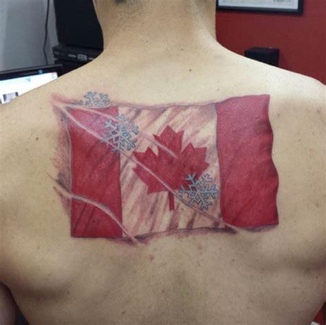 canadian flag tattoo designs 18 patriotic canadian flag tattoos tattooblend
