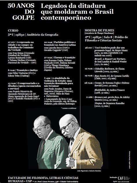 As Leis Da Ditadura Que Ciclo De Debates Legados Da Ditadura Que Moldaram O Brasil Contempor 226 Neo Rog 233 Cezar De