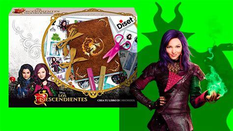 libro los descendientes 2 libro de hechizos de la pelicula los descendientes videos de juguetes en espa 241 ol youtube