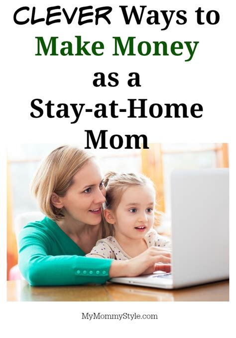 ways to make money as a stay at home my style