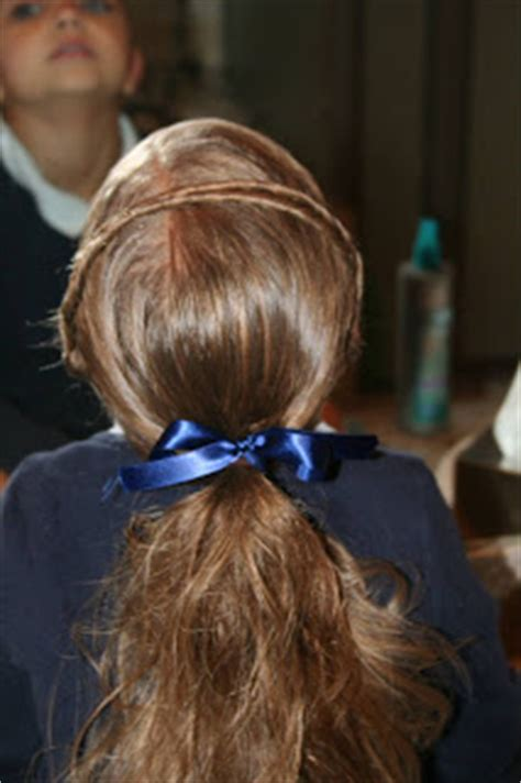 simple hairstyles with one elastic easy hairstyles the hair headband cute girls hairstyles