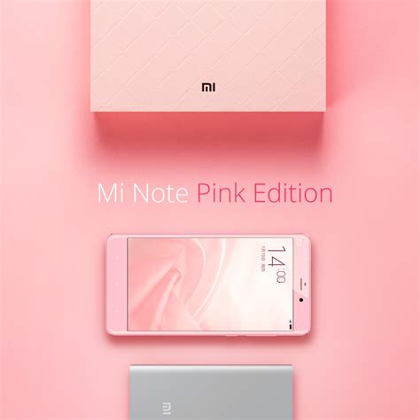 Aluminium Xiaomi Mi 3 Pink xiaomi launches a pink color variant of the mi note android central