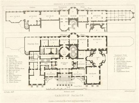 palace floor plans file plan of carlton palace in 1821 jpg wikimedia commons