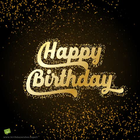 Happy Birthday Wish For Friend Happy Birthday Wish For A Friend On Background With Golden