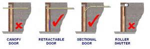 garage doors standard sizes