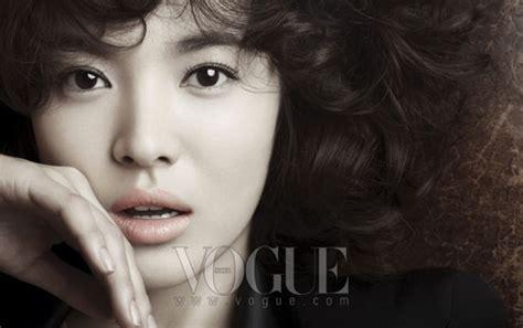 korean song song hye kyo on vogue magazine sept 09 all magazine