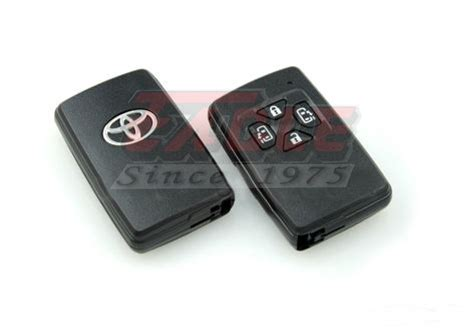 Toyota Smart Key Toysk001241 Toyota Alphard Estima Vellfire 4 Button