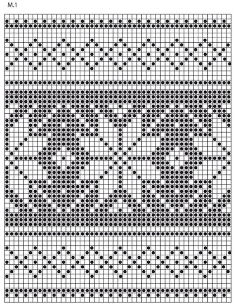 nordic pattern ai knitted drops pot holders with nordic pattern for