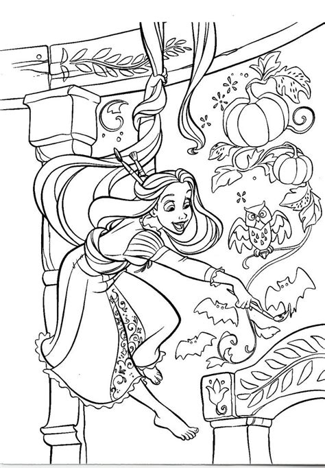 coloring pages frozen halloween free coloring pages of rapunzel para colorear