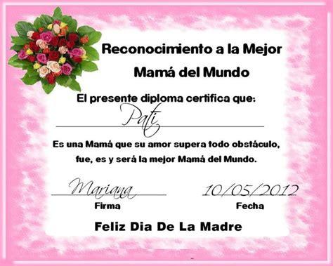 diploma madres diploma de dia de las madres by danny editions00 on deviantart