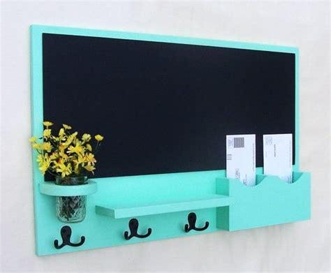 diy chalkboard key holder mail organizer chalkboard mail organizer large