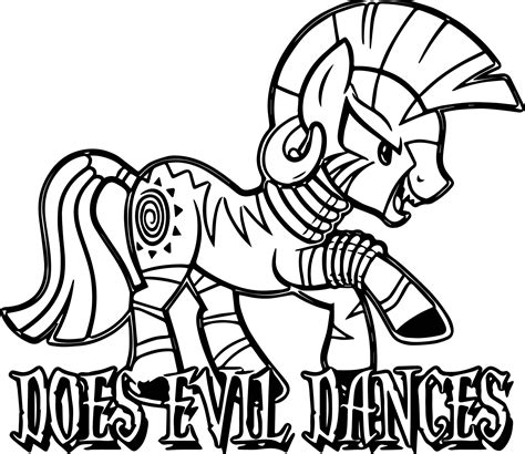 my little pony coloring pages zecora mlp zecora pages coloring pages