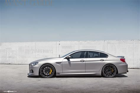 custom bmw m6 cleanly modded bmw m6 gran coupe on avantgarde wheels
