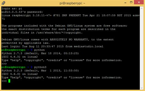 python tutorial raspberry pi pdf how to write and run a python program on the raspberry pi