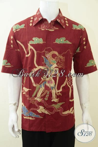 Kemeja Katun Anak Laki Motif Cat distro batik jual kemeja batik wayang motif