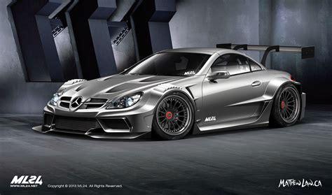 Mercedes Benz SLK Wide Body Kit Concept   Mercedes Benz Forum