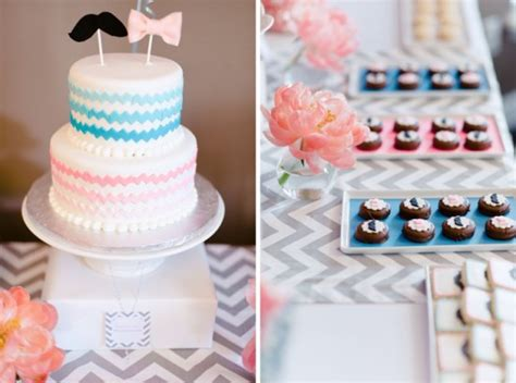 Baby Shower Gender Reveal Ideas by Baby Shower Ideas Pink Blue Gender Reveal Baby Shower