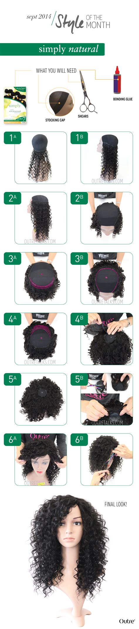 step by step tutorial on seeing curly weave how to make a curly stocking cap wig outretalks