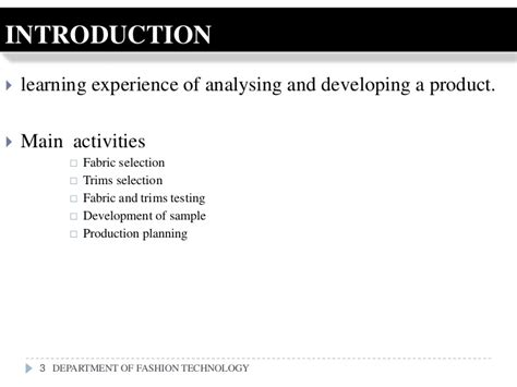 Analysis Of Product Development At by Product Analysis Development