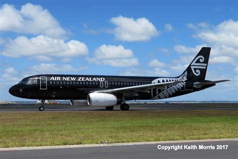 Black Airbus nz civil aircraft all black air new zealand a 320 airbus at auckland international 7 1 2017
