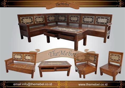 Kursi Tamu Sudut Daun jual kursi sudut 001 jati harga murah furniture minimalis mebel ukir jepara