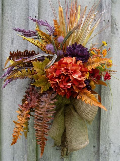 autumn wreath fall wreath home decor pinterest