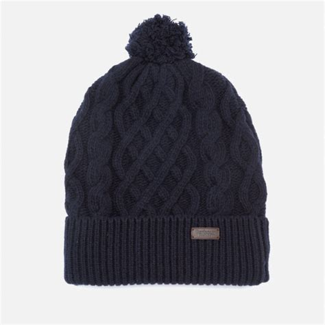 how to knit a cable beanie barbour cable knit beanie hat navy