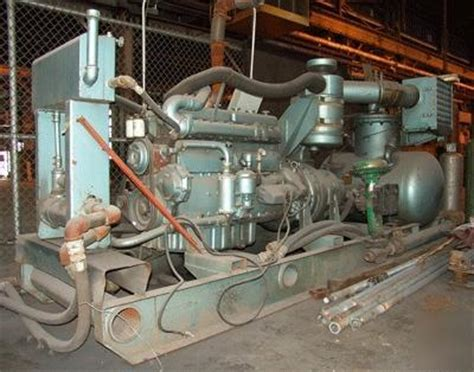 Dresser Inc Waukesha Wi by Leroi Dresser Compressor 1050s W Waukesha Diesel Engine
