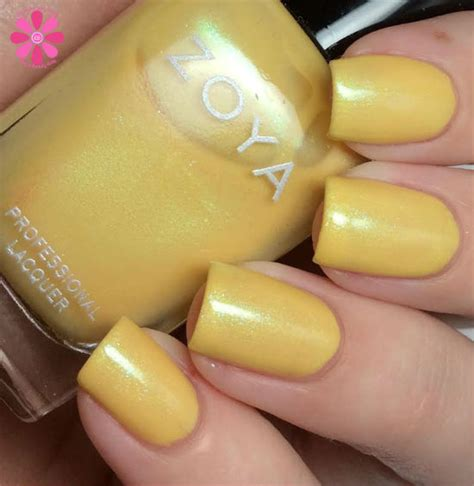 Zoya Tunik Aline Yellow 2 zoya 2015 delight collection swatches review cosmetic sanctuary