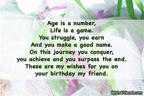 Birthday Quotes For A Friend Sentimental Birthday Quotes For Friendship Quotesgram
