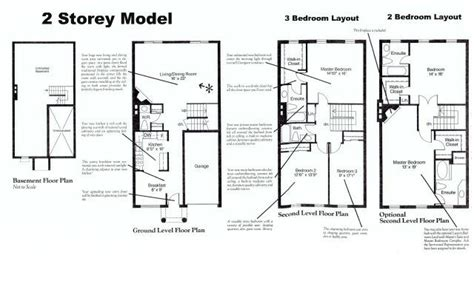 two story condo floor plans the luxury condominium complex of stornwood estate townhomes hurontario st and steeles avenue