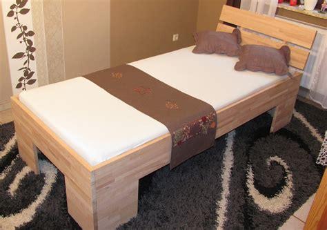 einzelbett mit kopfteil 27mm massivholzbett einzelbett doppelbett mit fuss ii