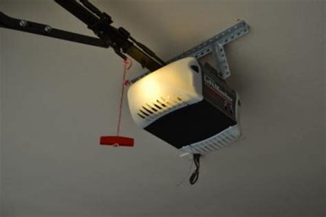 Garage Door Opener Pull Cord Painting Garage Doors