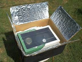 Of Cooking 76 Useful solar cooker made from cardboard box and foil solar