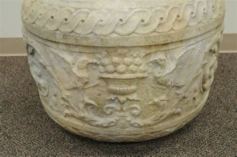 European Planters by 19th Century European Figural Carved Planter