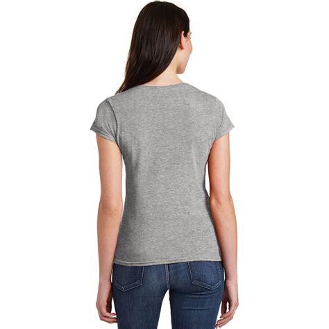 Kaos Live Tshirt Gildan Softstyle 1 gildan 64v00l softstyle junior fit v neck t shirt sport grey fullsource