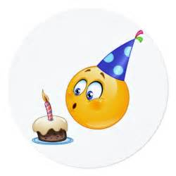birthday emoji invitation circle zazzle